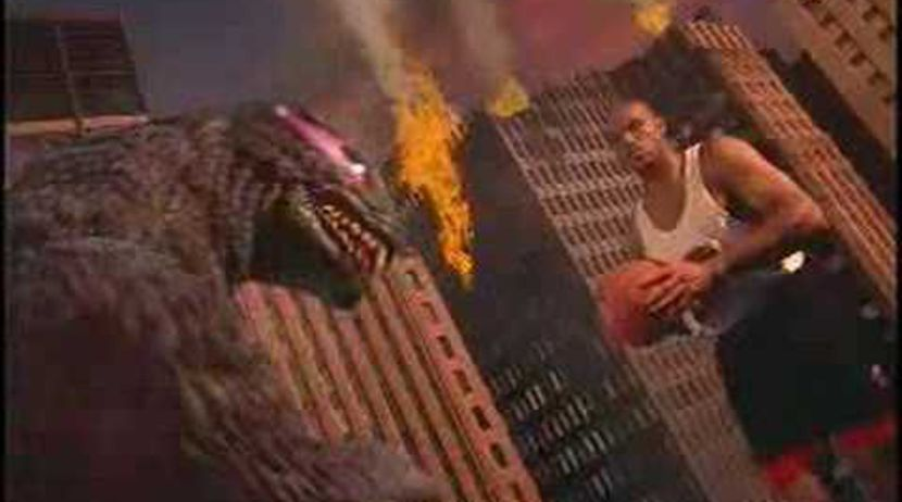 nouvelle arrivee d70a8 81ab4 Nike Commercial 'Godzilla vs Charles Barkley'' - YouTube